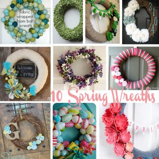 10 Spring Wreaths {Pinspiration}
