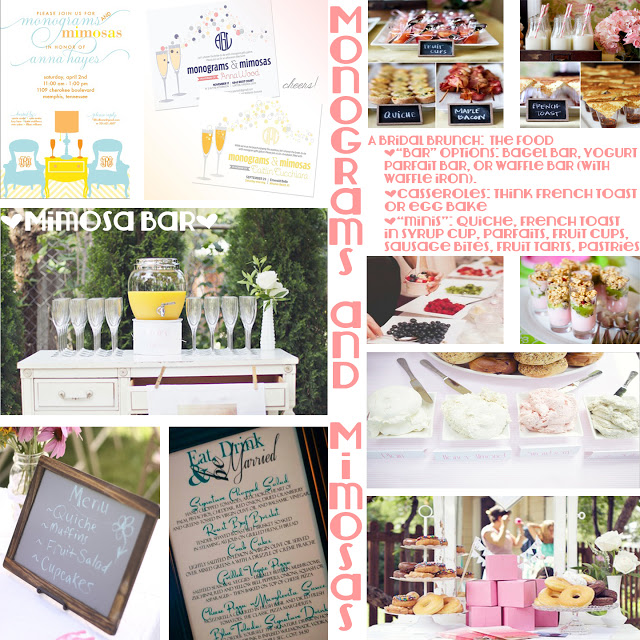 monograms and mimosas hosting a themed bridal shower brunch the love nerds