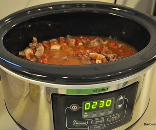 A Simple Crock Pot Chili for National Chili Day