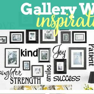 Designing a Gallery Wall {Pinspiration}
