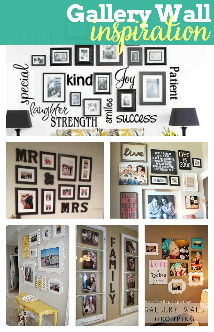 designing a gallery wall pinspiration the love nerds. Black Bedroom Furniture Sets. Home Design Ideas