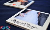 How to make Polaroid Picture Coasters