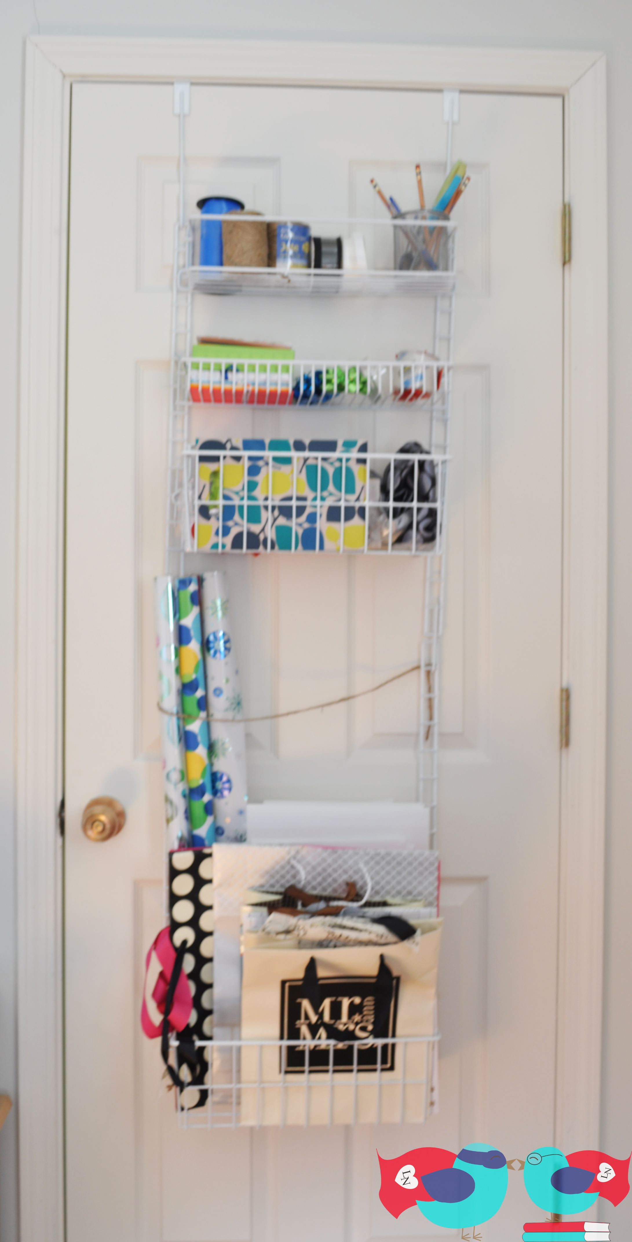 diy gift wrapping station apartment style the love nerds