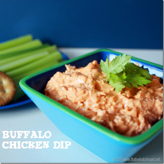 Layered Buffalo Chicken Dip Recipe: {Wow Me} Wednesday Recipe Features