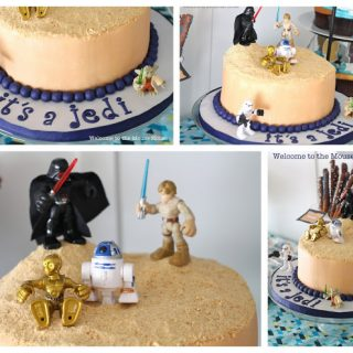 """It's a Jedi"" Star Wars Baby Shower"