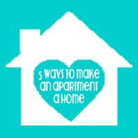 5 ways to help make an apartment a home @ thelovenerds