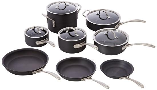 caphalon Hard-Anodized pans