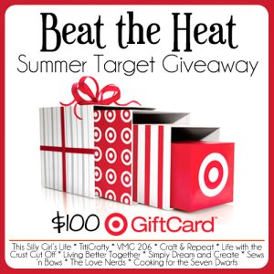 Beat the Heat Target Gift Card Giveaway @ thelovenerds