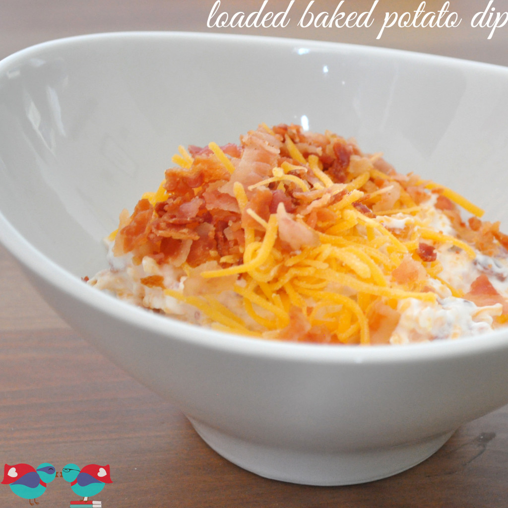 Loaded Baked Potato Dip - The Love Nerds