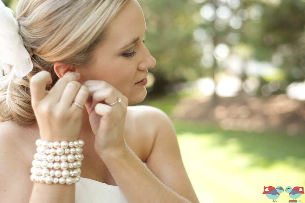 Friday Feature of BGBJewelry and the custom bracelet and earrings she created for The Love Nerd Wedding @ thelovenerds