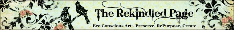Friday Feature on The Love Nerds: The Rekindled Page (Etsy Shop)