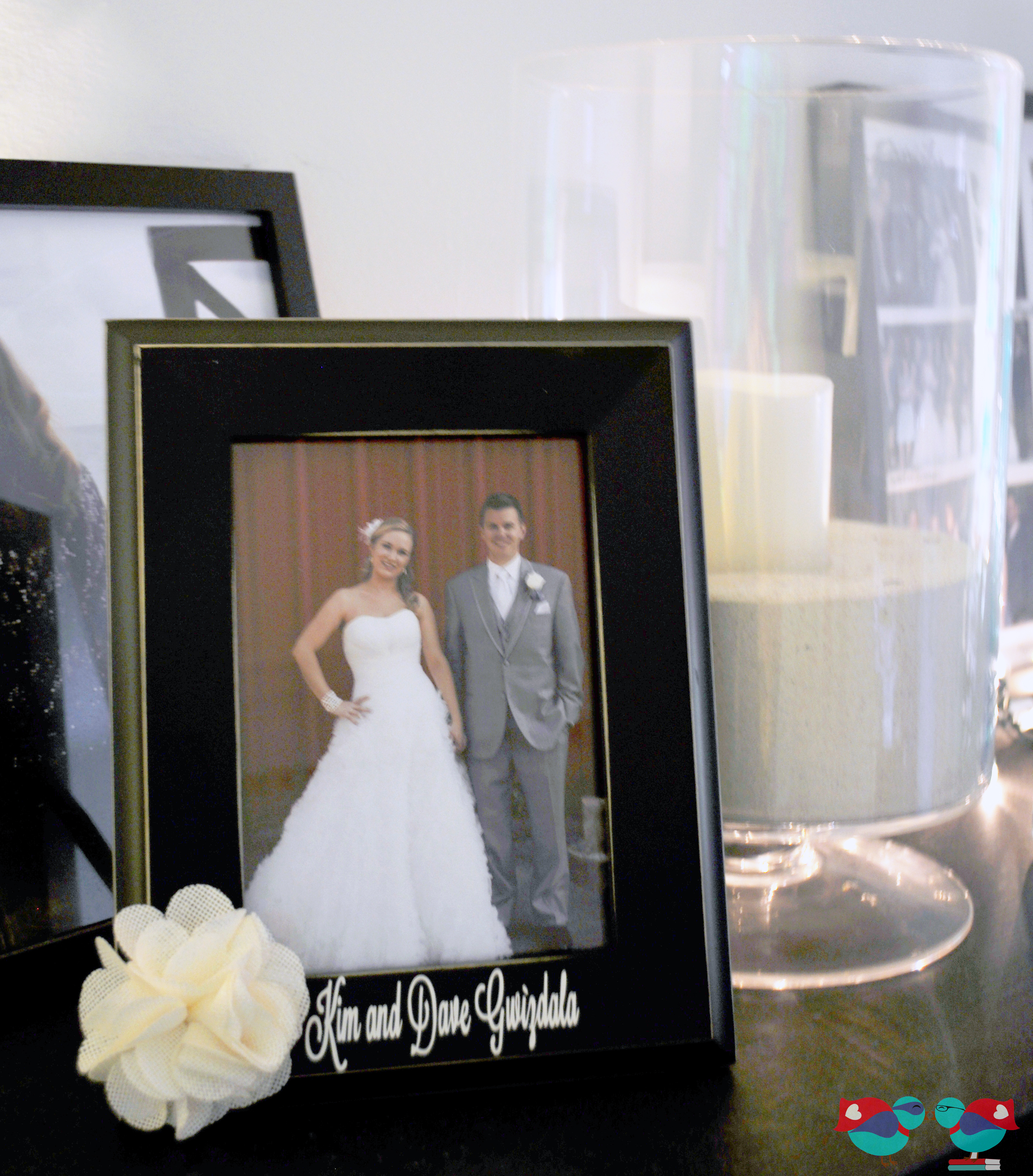 Wedding Gifts For Nerds : Personalized Couple Frame for a Wedding Gift @ The Love Nerds