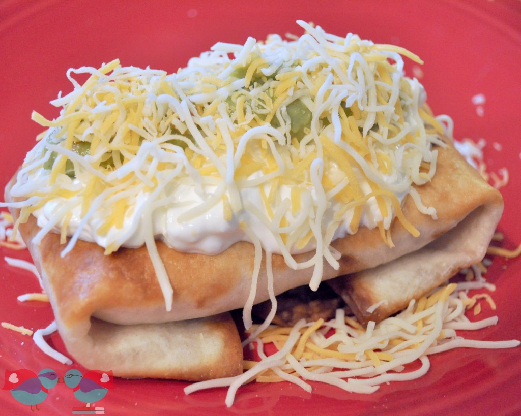 Chicken Chimichanga recipe @ The Love Nerds