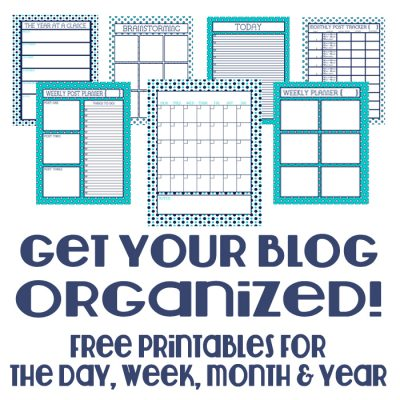Free Bloganizer: Getting the Blog Organized Behind the Scenes