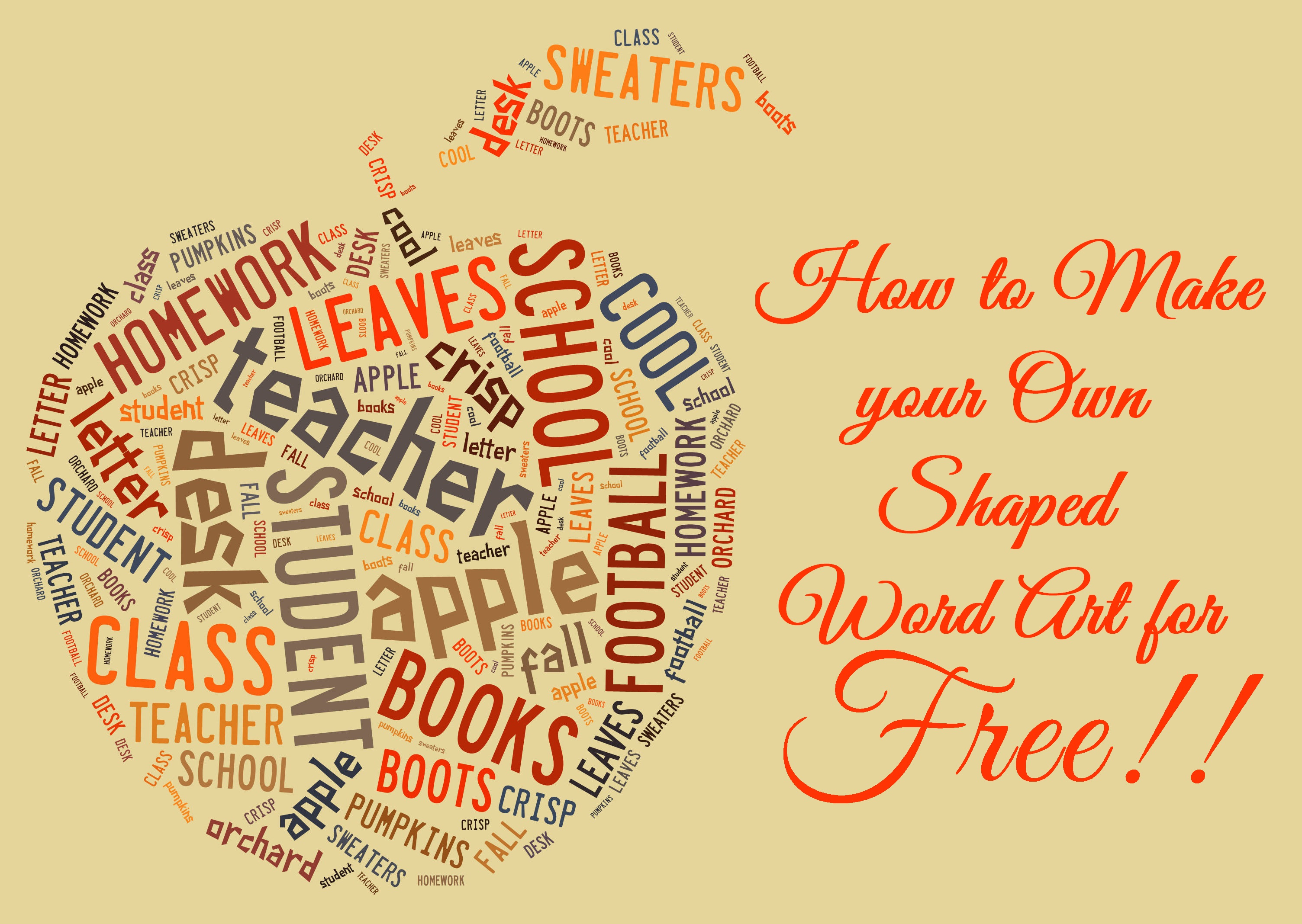 How to make free word art online in fun shapes the love for Create design online