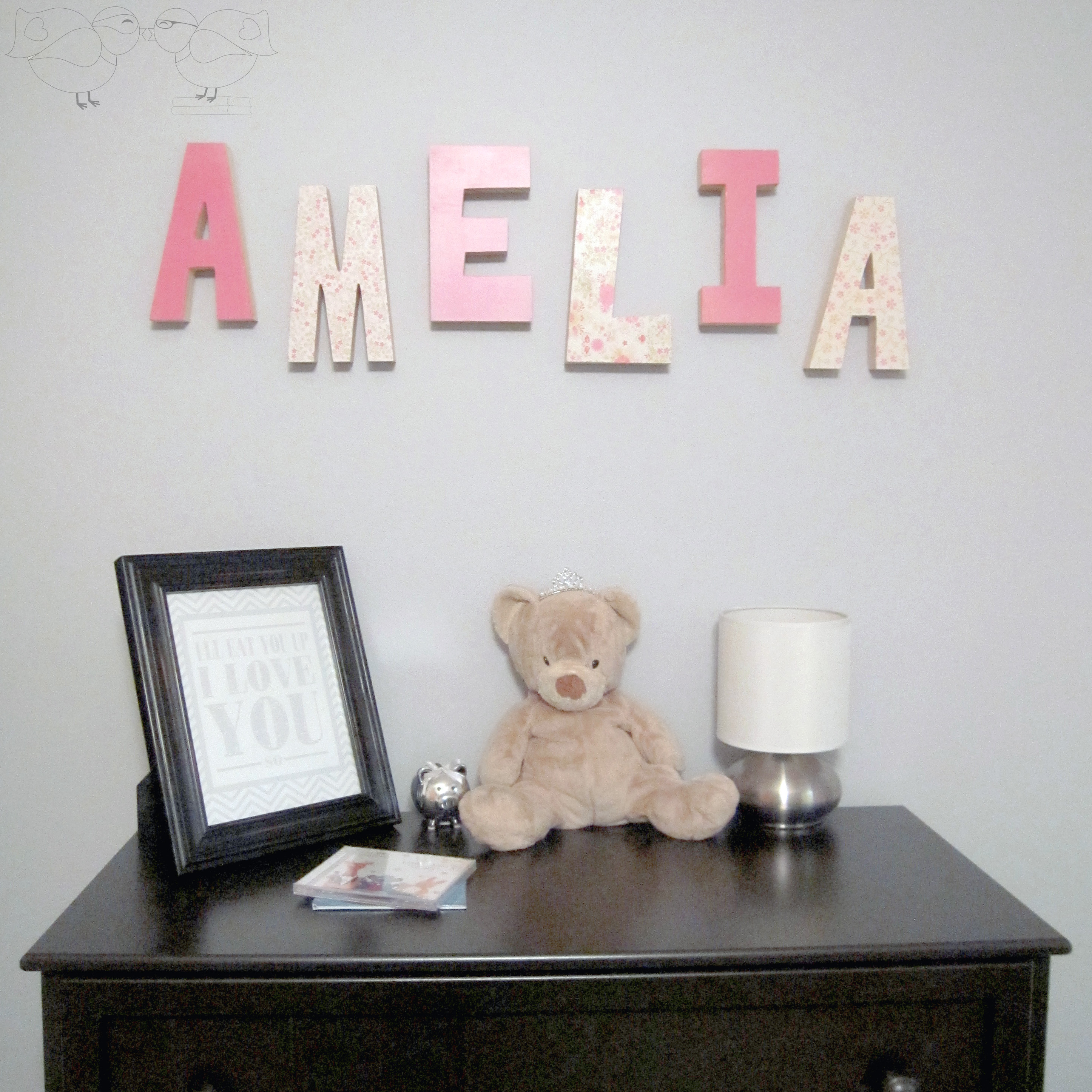decorative wooden letters perfect gift for new baby the love nerds
