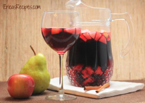 Fall Sangria from Erica's Recipes