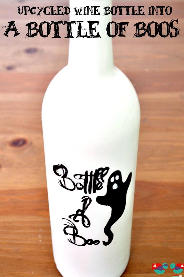 Bottle of Boos {Halloween Decor} - The Love Nerds