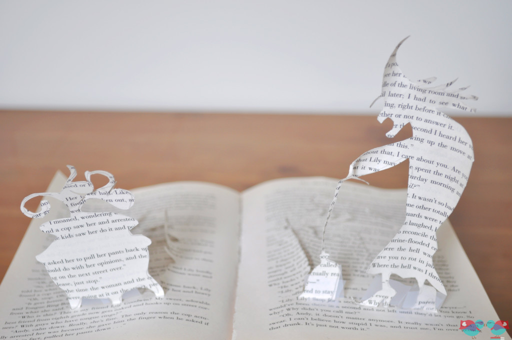 Halloween Decor - A Witchy Pop Up Book. From The Love Nerds (http://thelovenerds.com}
