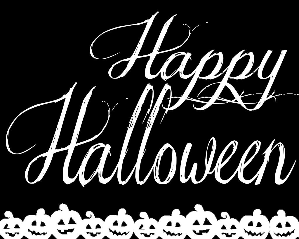 Happy Halloween Free Printable