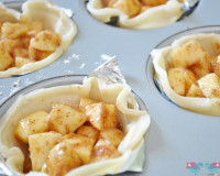 Individual Apple Pies - perfect for Thanksgiving!