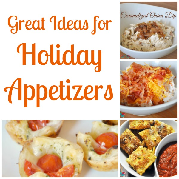 14 Great Ideas for Holiday Appetizers at The Love Nerds {https://thelovenerds.com}