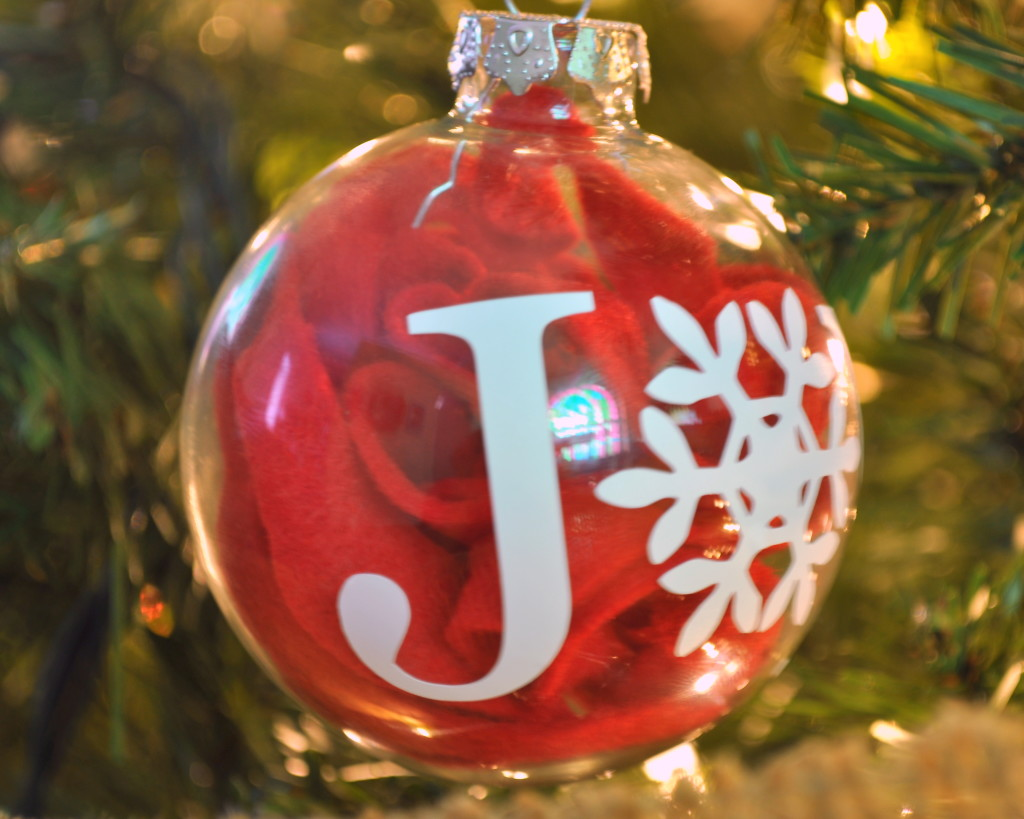 Joy Christmas Ornament - The Love Nerds
