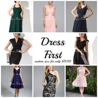 Dresses from Dress First {Great Options with Custom Sizing}