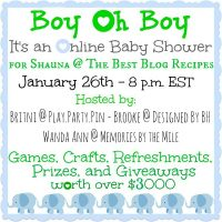 Baby Shower Giveaway for Shauna @ The Best Blog Recipes AND for all of you! Come see this amazing selection of baby themed prizes! {The Love Nerds} #baby #babyshower #giveaway
