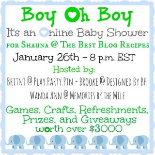"""The Best Blog Recipes"" Baby Shower"