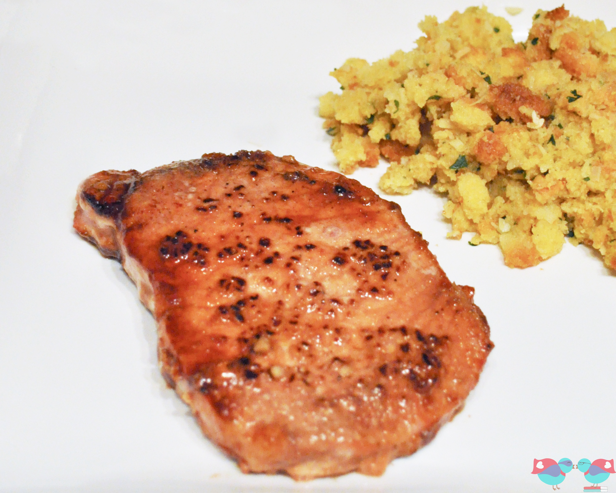 grilled brown sugar pork chops video allrecipes com brown sugar pork ...