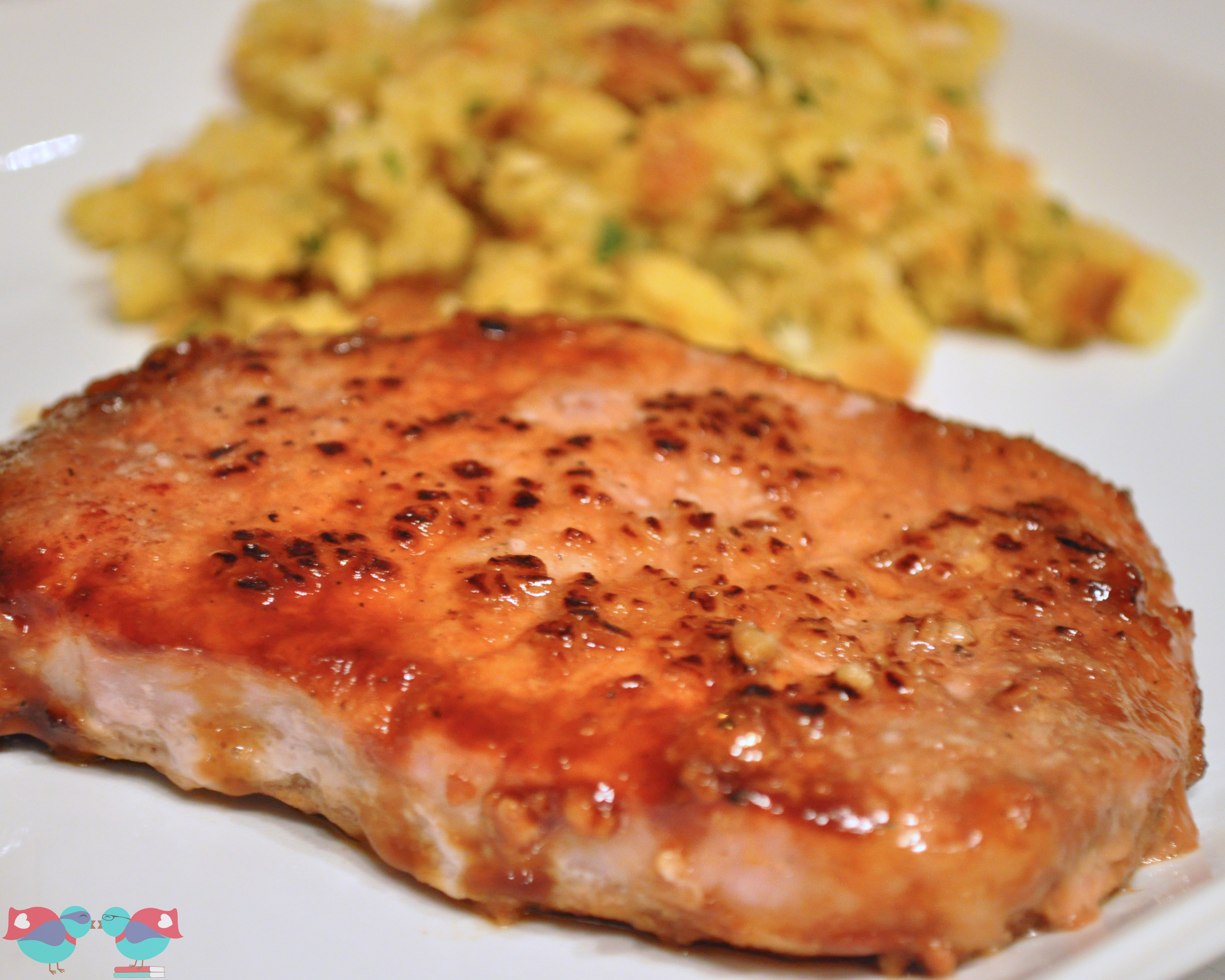 Easy brown sugar pork chops the love nerds - Easy oven dinner ...
