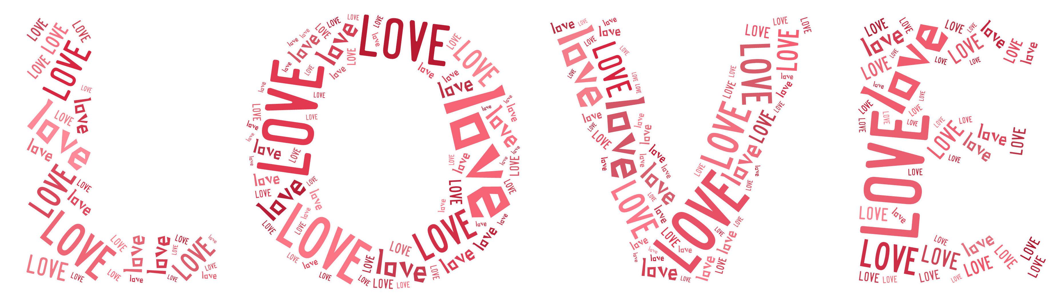 Love word art freebies : Vancouver wa coupon blog