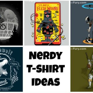 Nerdy T-shirt – Gift Ideas for the Nerd in your Life {Round 2}