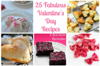 25 Fabulous Valentine's Day Recipes that will help you prepare for the entire day - from breakfast to dinner and dessert! {The Love Nerds} #ValentinesDay #Valentinesdayrecipes
