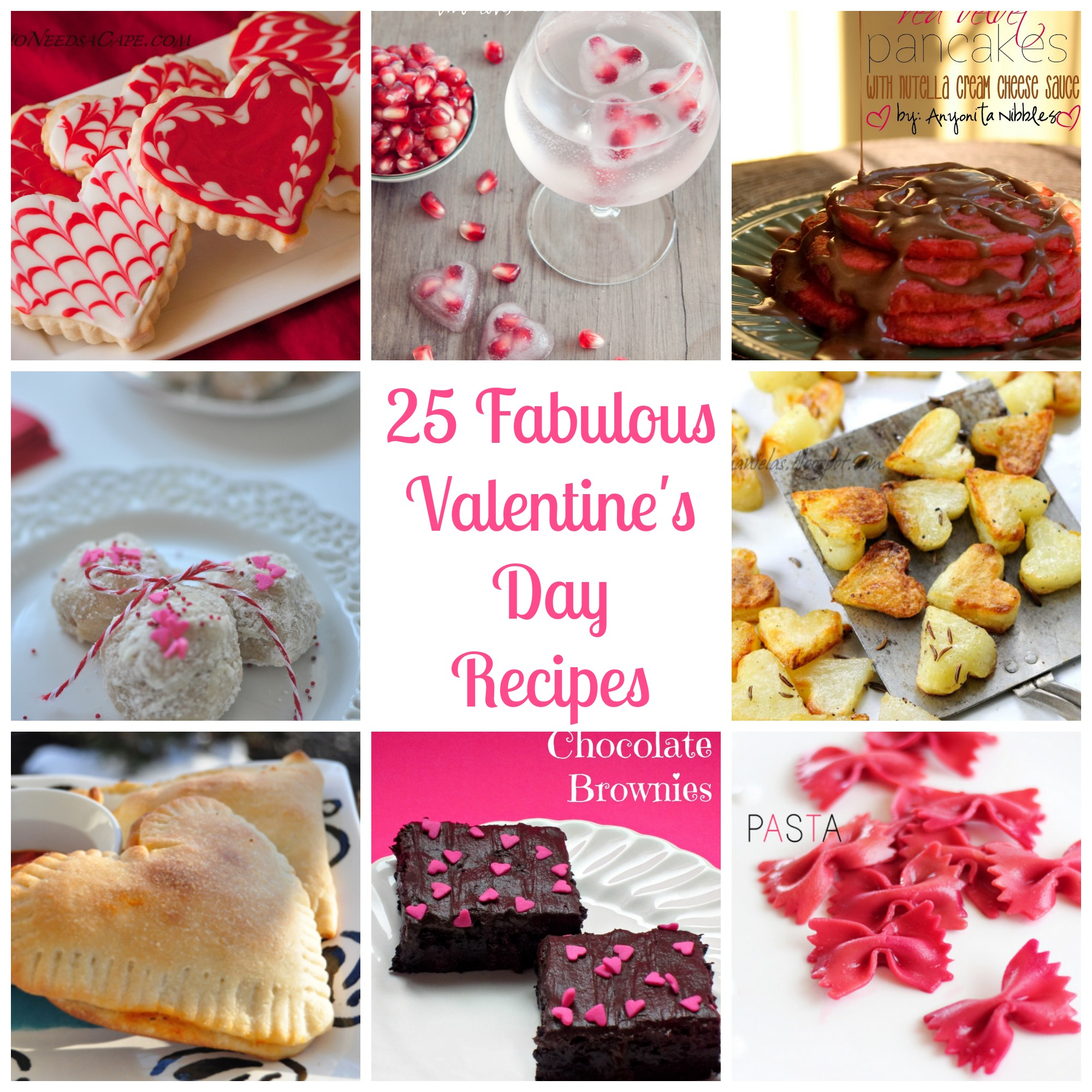 25 Fabulous Valentineu0027s Day Recipes That Will Help You Prepare For The  Entire Day   From