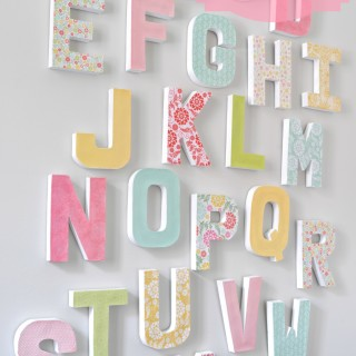 How to Make your own Letter Wall