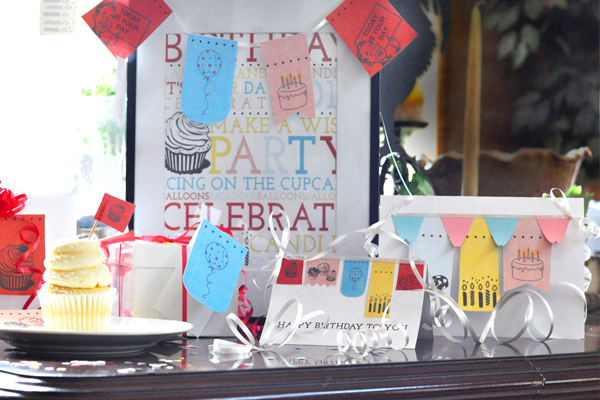 Free Birthday Printables by Little Feet Digital Designs is being offered at My 30 Best Friends! An amazing collection with birthday subway art, cupcake toppers and a bunting sign. {The Love Nerds - Birthday Celebrations Series} #freeprintables #birthdayprints #subwayart