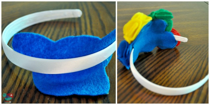DIY Olympics Headband {The Love Nerds} #Olympicsparty #Olympicscrafts