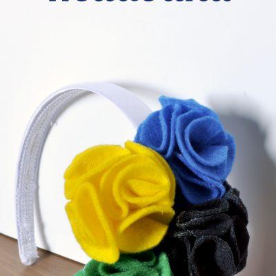 DIY Olympics Headband