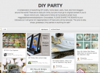 DIY Party: Fabulous Group Board on Pinteret with over 50 Bloggers sharing their best in DIY {#Crafts, #Recipes, #party, #holiday, #homedecor} {The Love Nerds}