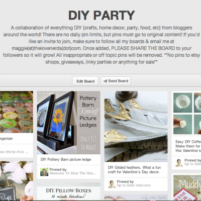 DIY Party {Pinterest Group Board}