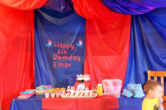 Circus Birthday Party from 3 Monkey's Mommy - If you are looking for fun activities for a kid's birthday party, you need to check out this post! It is the perfect list of birthday party games! {The Love Nerds} #birthday #birthdayparty #partygames #circustheme