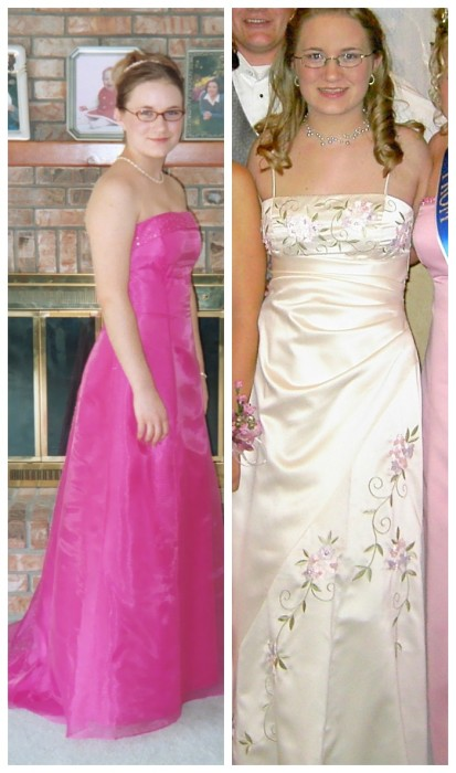 LoveNerdMaggie Prom Dresses - Then and my Dream Dresses for Now