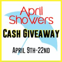 $500 April Showers Cash Giveaway {The Love Nerds} #extracash #giveaway #free