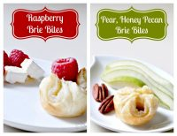 Wine, Cheese, and Delicious Brie Bites {Dating my Husband at Home Series}