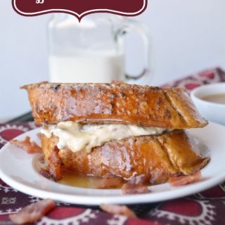 Maple and Bacon Stuffed French Toast