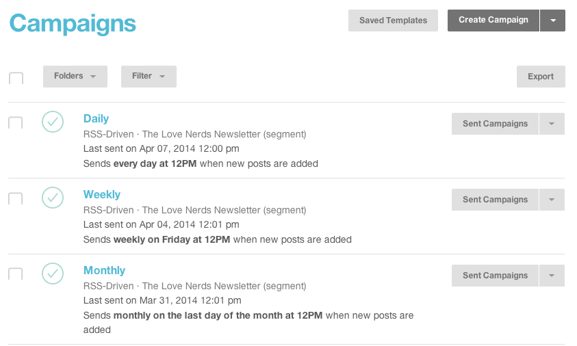 How to Start A Blog Newsletter through MailChimp: Part 2 - The ...
