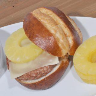 Teriyaki Turkey Burgers with Alpine Lace Swiss Cheese