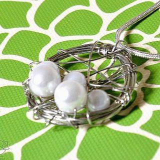 Personalized Birds' Nest Necklace